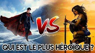 SUPERMAN VS WONDER WOMAN : QUI EST LE PLUS HEROÏQUE ?