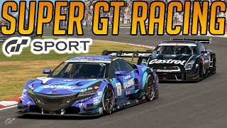 Gran Turismo Sport: Super GT Cars at Brands Hatch