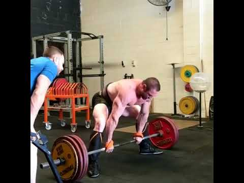 Final deadlift session before comp 200kg x 10 reps Finding the strength