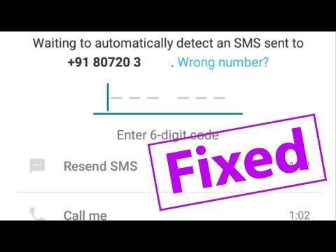 How To Fix Whatsapp Verification Code Not Recive Problem