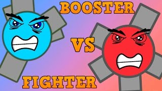 DIEP.IO BOOSTER VS FIGHTER!! // Best Speed Tank // Which is Be...