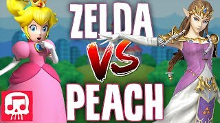 ZELDA VS PEACH RAP BATTLE by JT Machinima