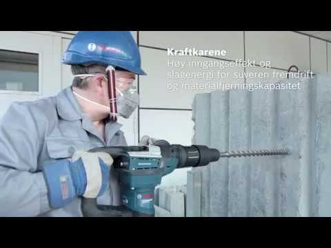 Borhammer med SDS-max GBH 5-40 D  Professional
