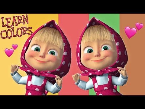 Masa a Medved 2020 cz Mix Animovane Pohadky pro Deti, Uc se Barvy, Learn Colors, Masha i Medved