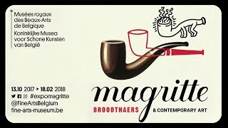 Exposition: Magritte, Broodthaers & Contemporary Art