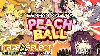 Senran Kagura: Peach Ball - The Dojo (Let's Play) - Part 1