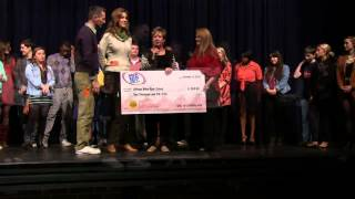 "The ""Big Check"" Presentation from Mix 101.5 FM"