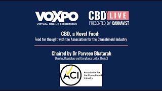 CBD Live Video Vault: CBD, a Novel Food