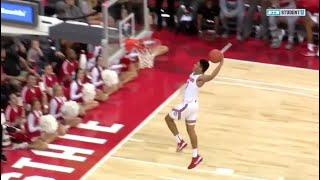 DJ Carton Debut Highlights // Ohio State vs. Cedarville Exhibition Basketball Dunks