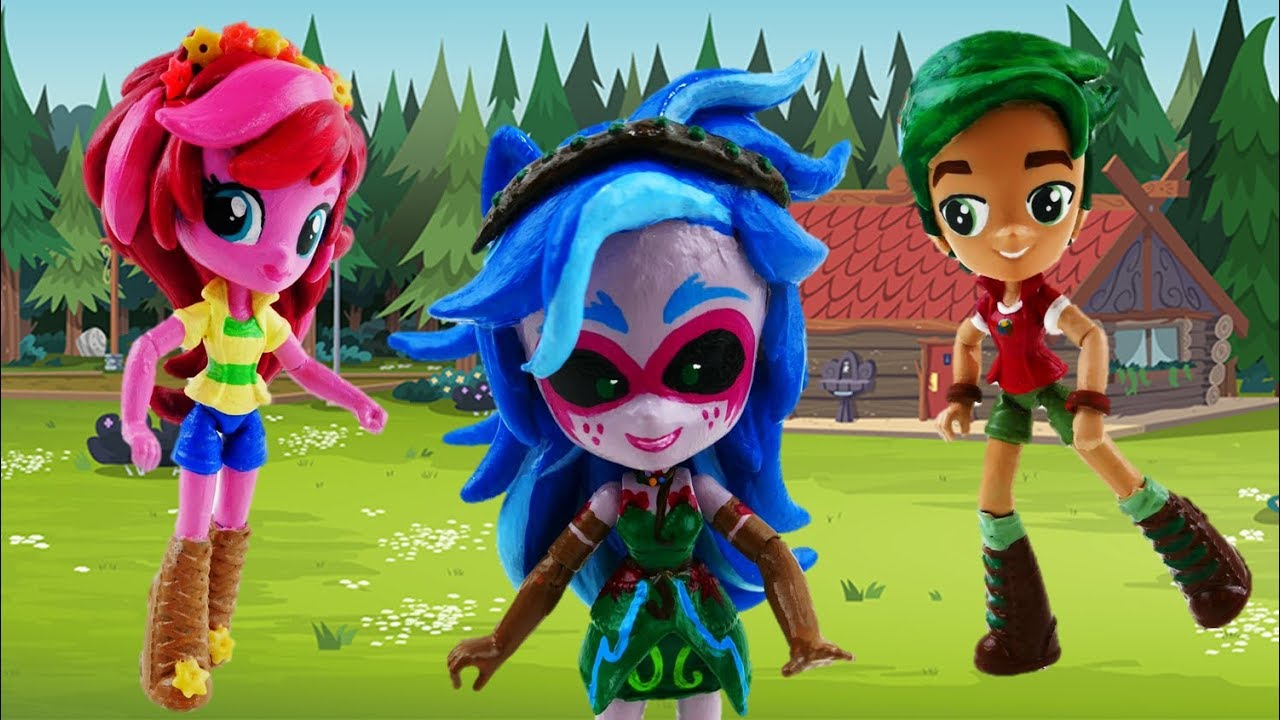 Compilation My Little Pony Equestria Girls Legend of Everfree Gloriosa Daisy Gaia Timber Bruce