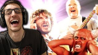 "Hip-Hop Head's FIRST TIME Hearing ""Tribute"" by TENACIOUS D!!!"