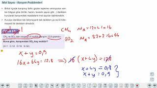 Eğitim Vadisi TYT Kimya 8.Föy Kimyasal Hesaplamalar 2 Konu Anlatım Videoları