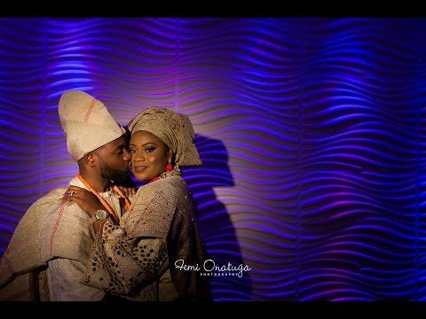 Sandra + Olu : Nigerian Traditional Marriage