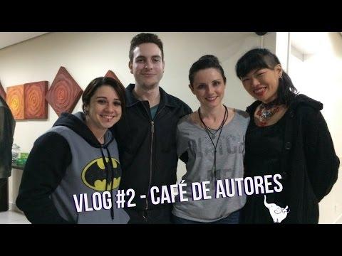 Vlog #2 - Festa: 1 ano do Cafe? de Autores #elefanteconferiu