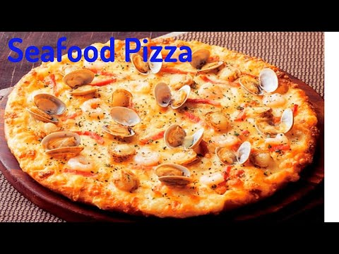 Seafood Pizza/Yummy Seafood Pizza/Cooking Recipe : Chef Sokphal