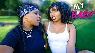 Calling my Crush *BABY* for the 1st time & THIS HAPPENED(GETS JUICY😱) | EZEE X NATALIE