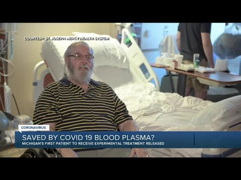 Metro Detroit man is first COVID-19 patient in Michigan to use antibody plasma treatment