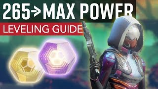 Destiny 2 - How to Get to Max Power [305] // Ultimate Leveling Guide