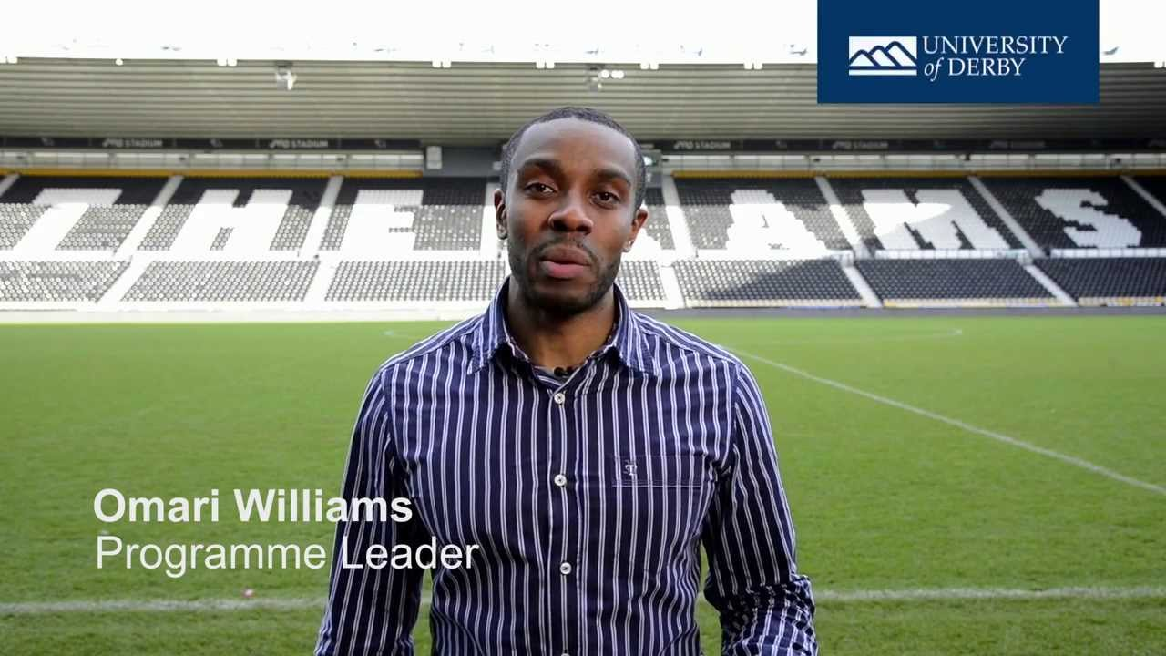 Why you should study Sport Management at the University of Derby