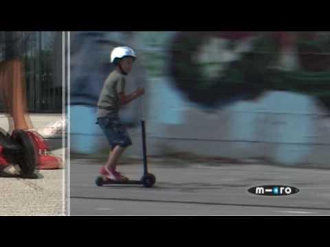 Πατίνι Maxi Micro Scooter Με T Bar Κόκκινο