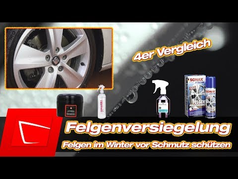 Felgenversiegelung #1 Felgen versiegeln POLISHANGEL Supersport, Swissvax Autobahn, Sonax, waxaddict