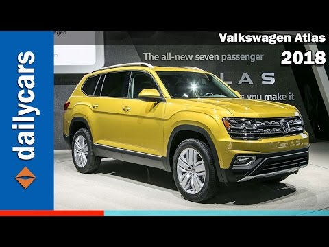 2018 Volkswagen VW Atlas Preview Walkaround – WHAT YOU NEED TO KNOW?