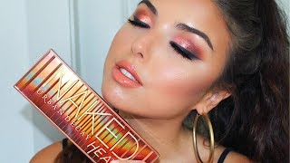 Urban Decay Naked Heat Palette | Full Face Tutorial