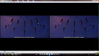 [2017,PC] SOLVED - How to watch a 3D Movie in 2D on VLC (Fixing the Double-Image Problem)