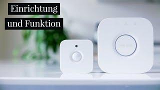 Bewegungsmelder Philips HUE Einrichtung und Funktion ! (deutsch)