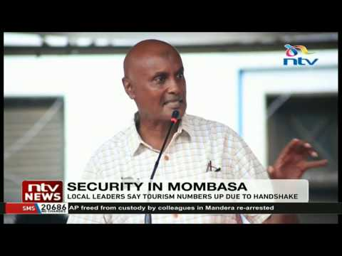 Mombasa leaders ask government to ensure security during festive season