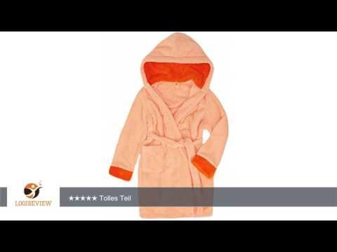 Bademantel mit Kaputze für Mädchen und Jungen Kids | Erfahrungsbericht/Review/Test