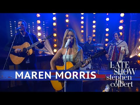 Maren Morris Performs 'A Song For Everything' - The Late Show With Stephen Colbert