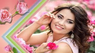 Девушка и розы# Girland roses# Free Progect proshow Producer