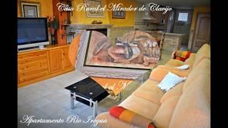 preview picture of video 'Apartamento rural en La Rioja río Iregua, Casa Rural en Clavijo'