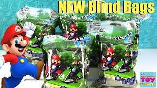 Mario Kart Backpack Buddies Hangers Blind Bags Nintendo Toy Review | PSToyReviews