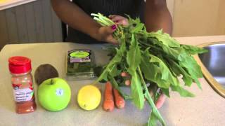 How To Make An Effective Parasite Detox Drink |10 Day Juice Fast (Day 1) pt1