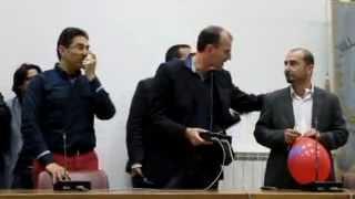 preview picture of video 'Elezioni 2012, Villafranca: De Marco ed i candidati al consiglio ringraziano gli elettori (1 di 2)'