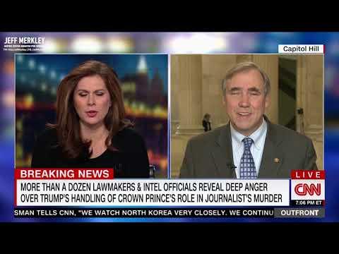 Video & Audio | News | U S  Senator Jeff Merkley of Oregon