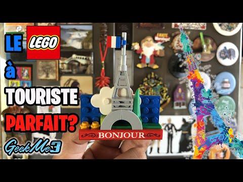 Vidéo LEGO Objets divers 854011 : Aimant modèle Tour Eiffel