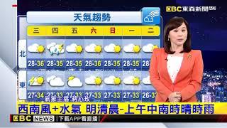 氣象時間 1090707晚間氣象 東森新聞