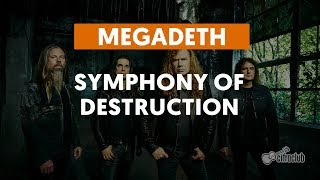 Symphony Of Destruction - Megadeth (aula de guitarra)
