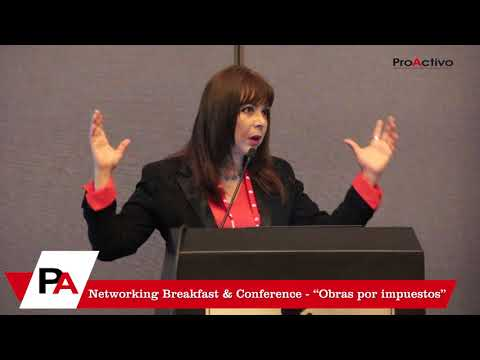 "Networking Breakfast & Conference - ""Obras por impuestos"""