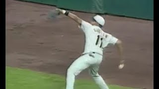 MLB Longest Outfield Throws