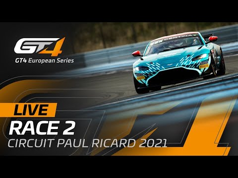 ブランパンGTシリーズ(ポール・リカール) GT4クラスのRACE2ライブ配信動画