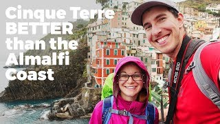 Cinque Terre: BEST place in ITALY for NATURE LOVERS - Travel Vlog Day #129