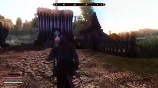 Fantasy Oblivion with shadows