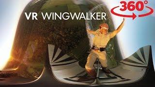 VR wing walk on a plane, skateboarding at Vans Pro Skate Park