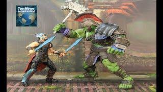 "Marvel Select Thor: Ragnarok 7"" Gladiator Hulk Figure Review"