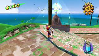 Super Mario Sunshine - Gelato Beach - It's Shadow Mario! After Him! - Shine 30/120 HD