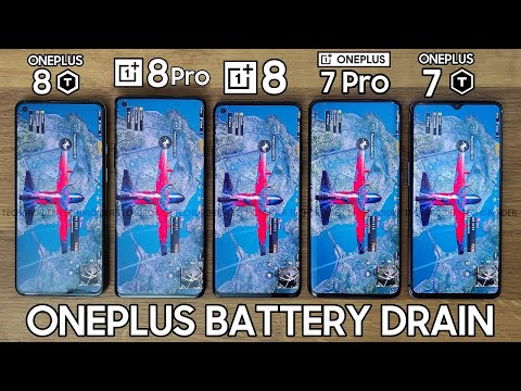 EXTREME ONEPLUS BATTERY DRAIN - OnePlus 8T vs OnePlus 8 Pro / OnePlus 8 / OnePlus 7 Pro / OnePlus 7T